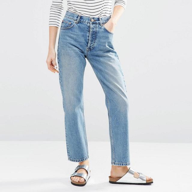 ASOS Authentic Straight Leg Jeans