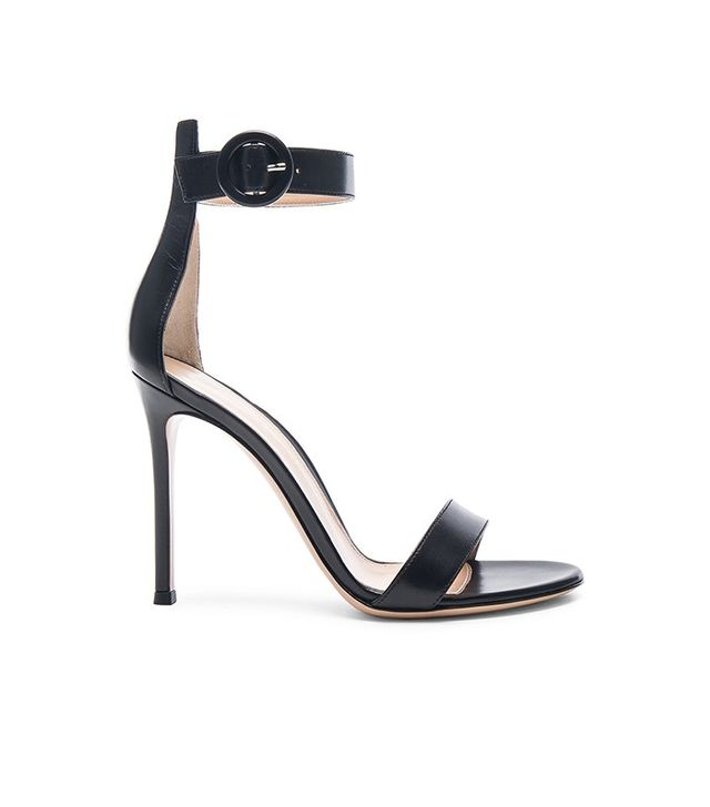Gianvito Rossi Leather Portofino Sandals
