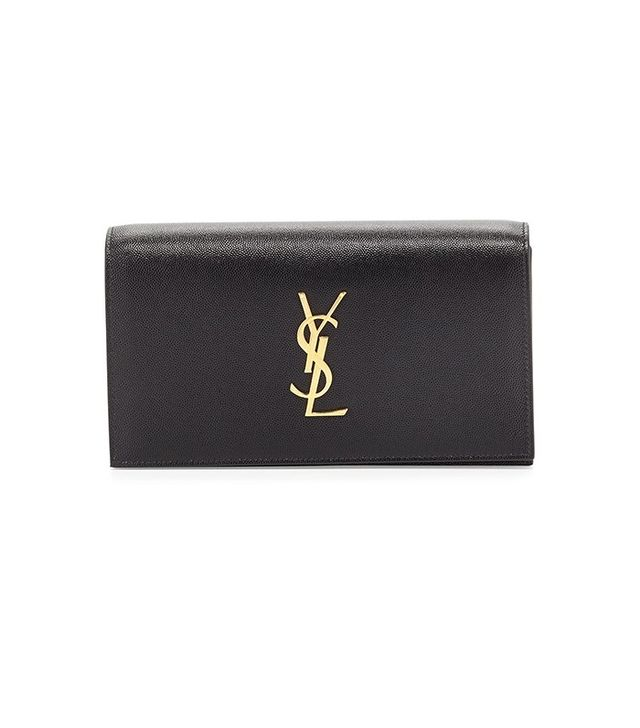 Saint Laurent Monogram Clutch Bag