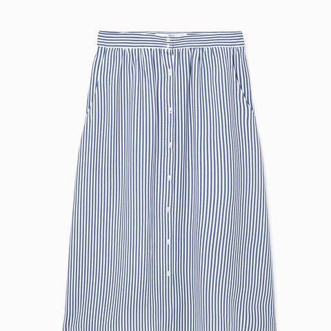 Striped Pattern Skirt