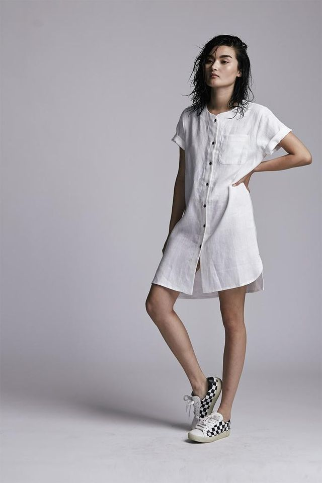 Faircloth & Supply Pepper Dress Paper White