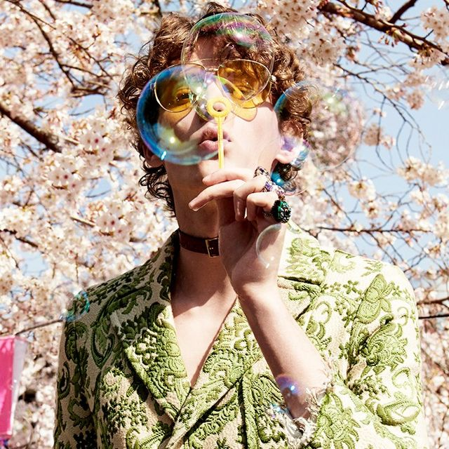 Gucci's Fall Campaign Reveals Fashion's New It City