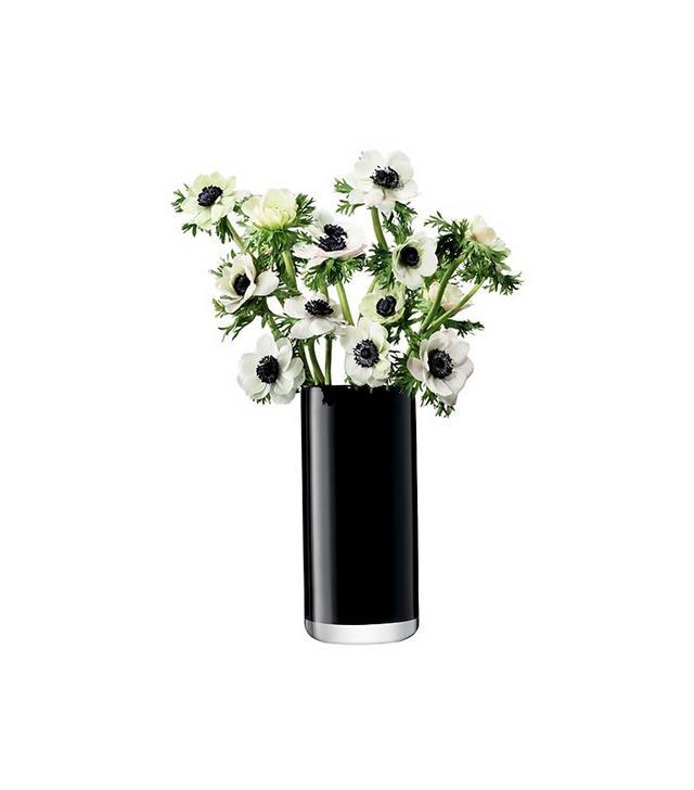 LSA International Black Cylinder Bouquet Vase