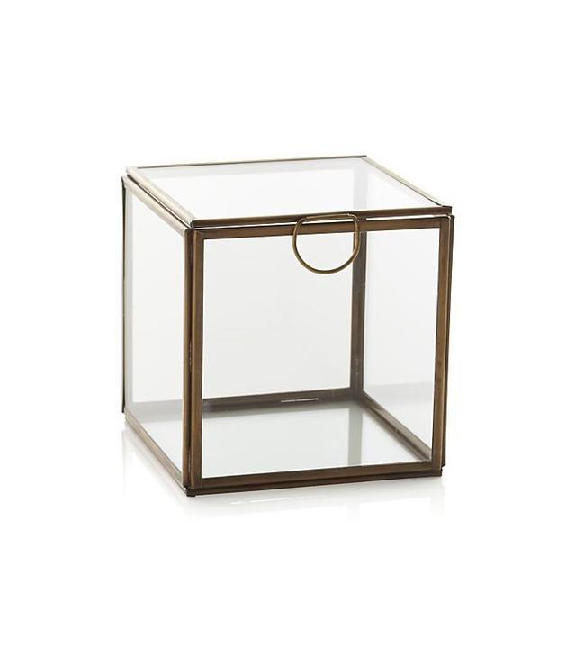 Crate and Barrel Clarus Small Square Box