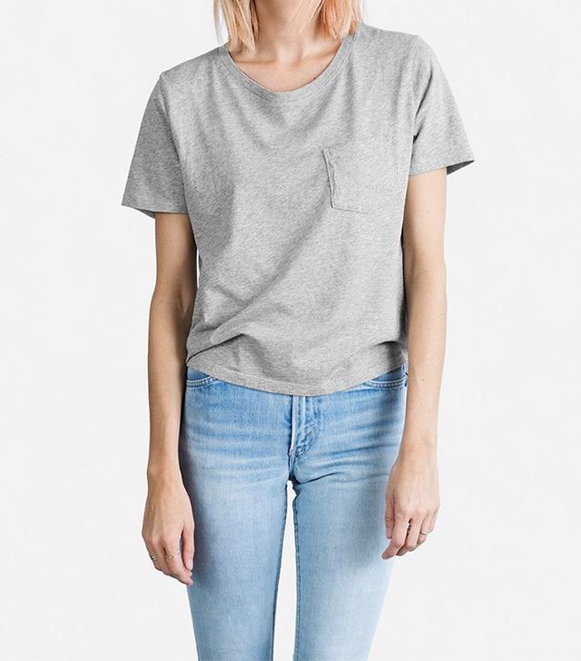 Everlane The Cotton Heather Box Shirt