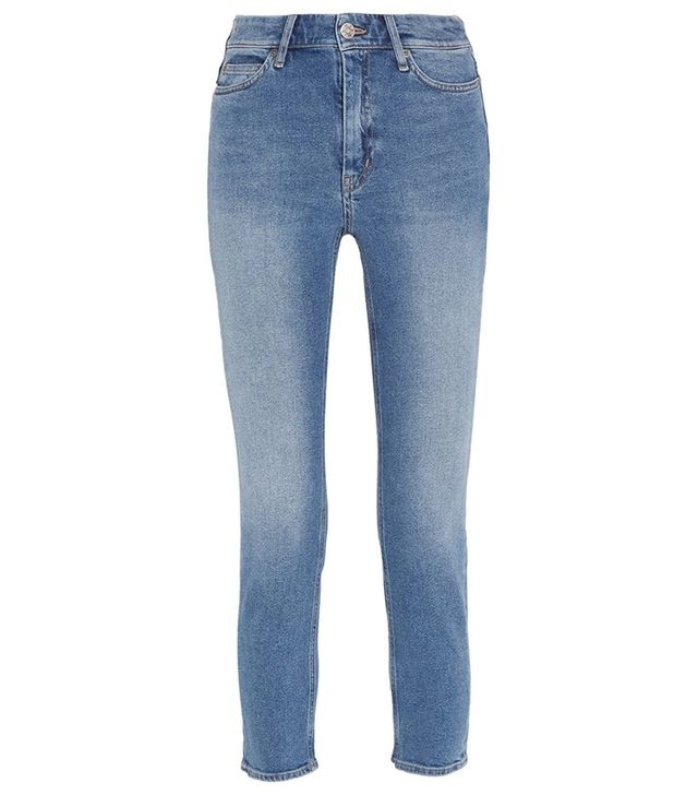 M.i.h Jeans Niki Cropped Mid-Rise Jeans
