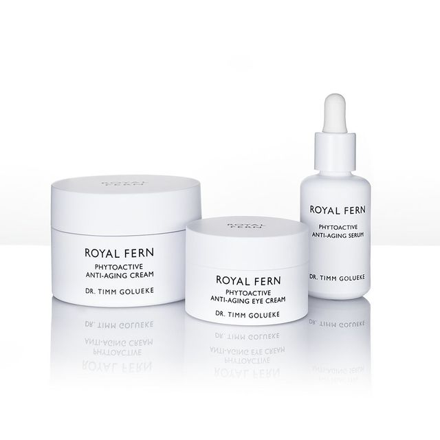 Royal Fern Phytoactive Anti-Aging Cream, Eye Cream, and Serum