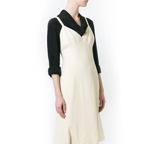 Vintage Boucle Flared Dress
