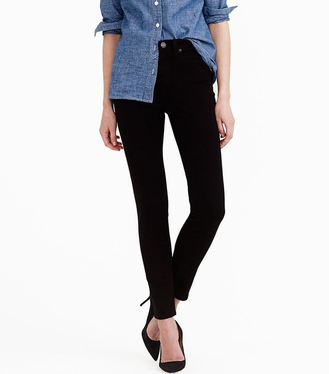 J.Crew Lookout High-Rise Jeans in Black