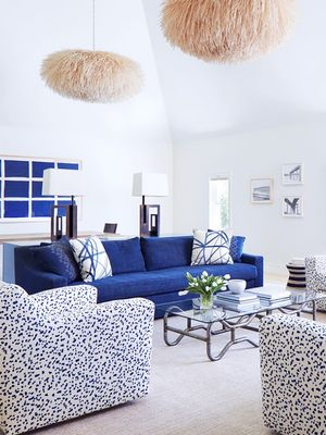 This Is How You Decorate With Blue Hues
