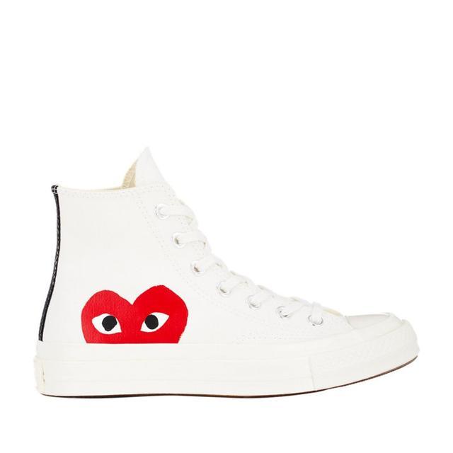 Commes des Garçons Play Chuck Taylor 1970s High-Top Sneakers