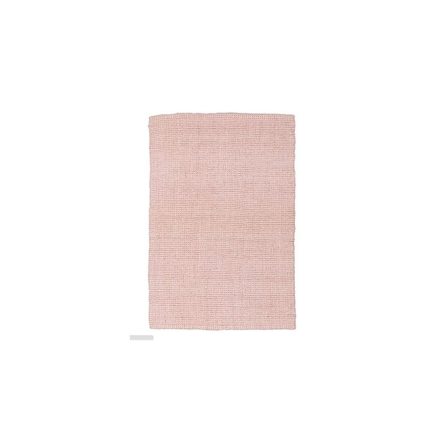 Rug Culture Torpoint Chunky Weave Jute Rug, Pink