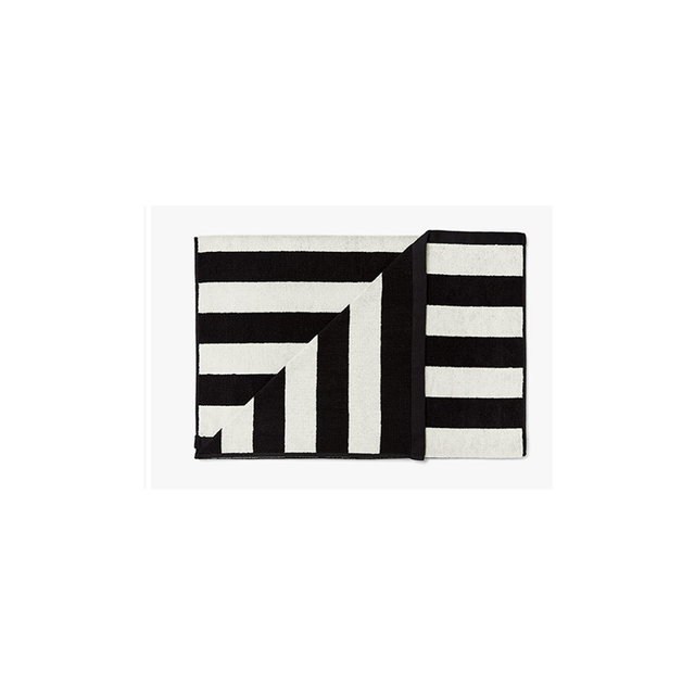 Aura Home Stripes Bath Towel