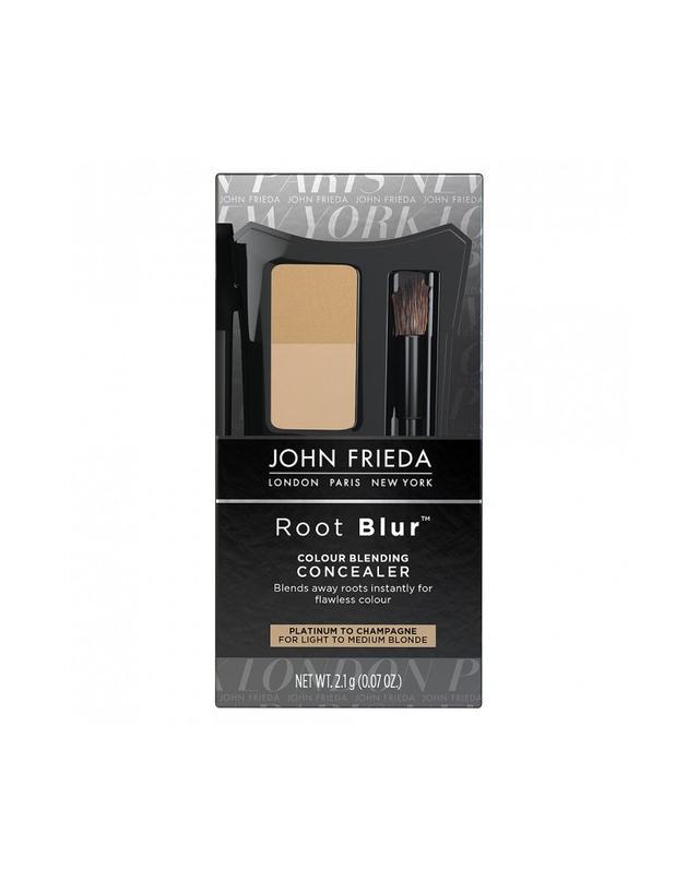 John Frieda Root Blur in Platinum to Champagne