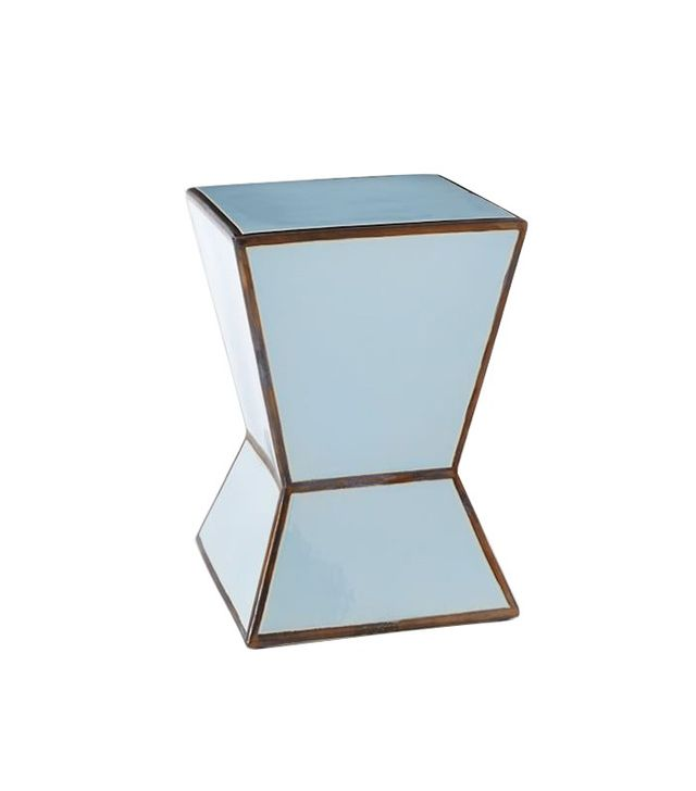 West Elm Ceramic Trapezoid Side Table
