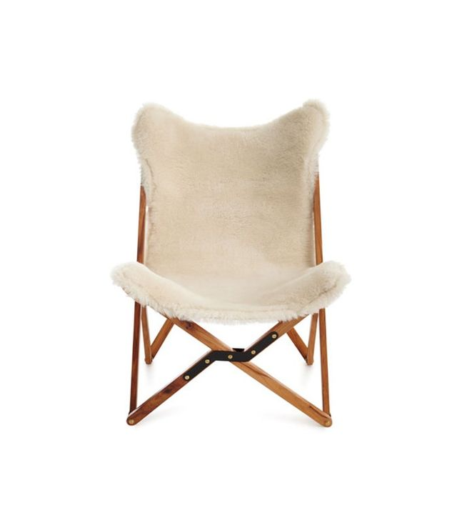 Horchow Dollie Sheepskin Chair