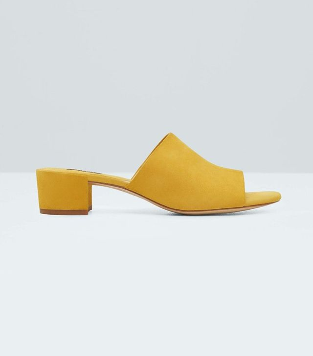 Mango Deconstructed Leather Sandals