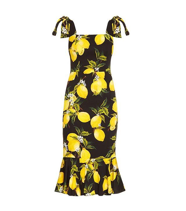 Dolce & Gabbana Lemon Print Dress