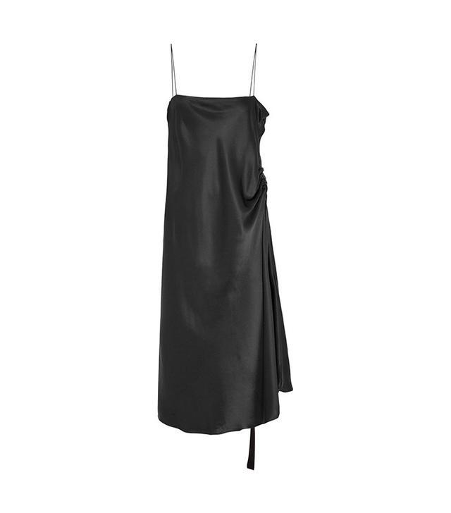 Ellery Silk-Satin Midi Dress