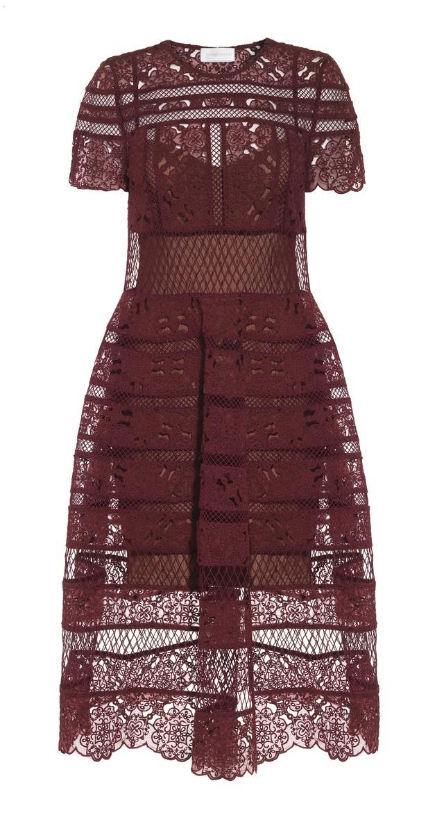 Zimmermann Guipure Lace Dress