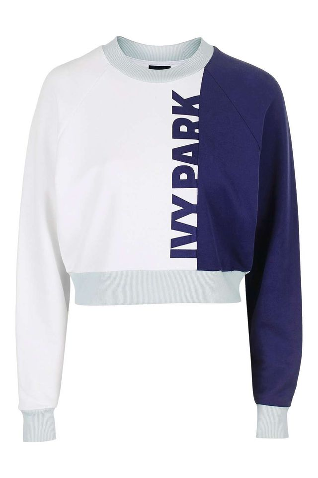 Ivy Park Color Block Detailed Sweatshirt