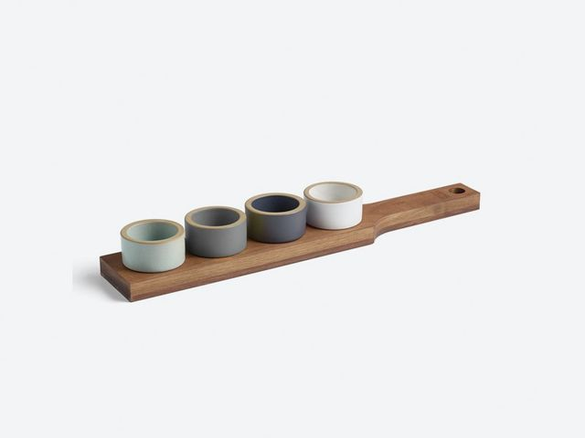 Heath Ceramics Candleholder Tray Set