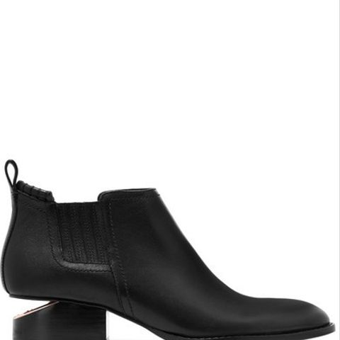 Kori Leather Ankle Boots