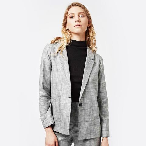 Check Tonic Suit Blazer