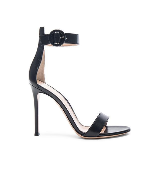 Gianvito Rossi Leather Portofino Sandals