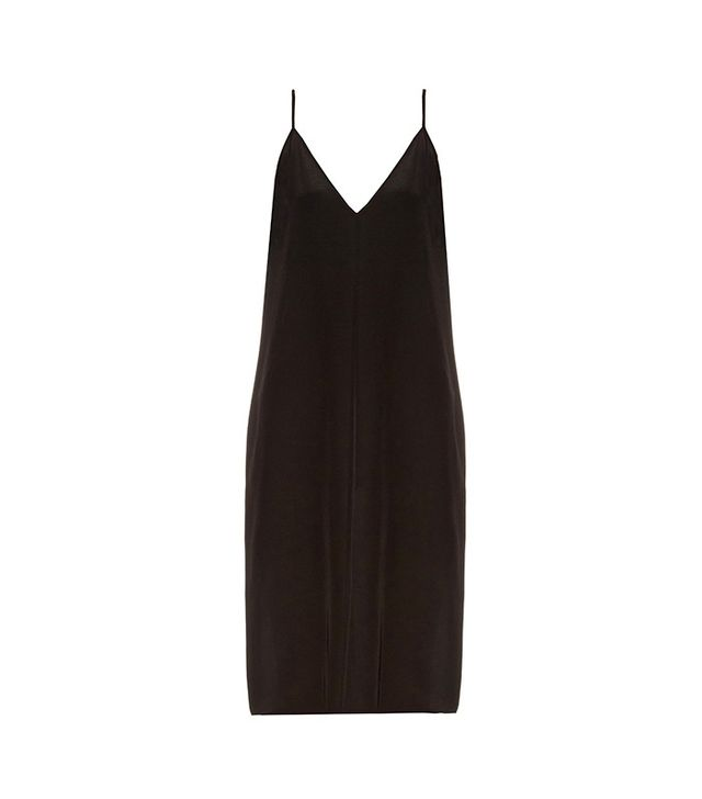 Raey Deep V-Neck Silk Slip Dress