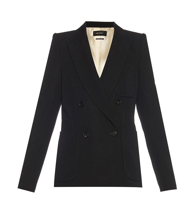 Isabel Marant Ryam Double-Breasted Blazer