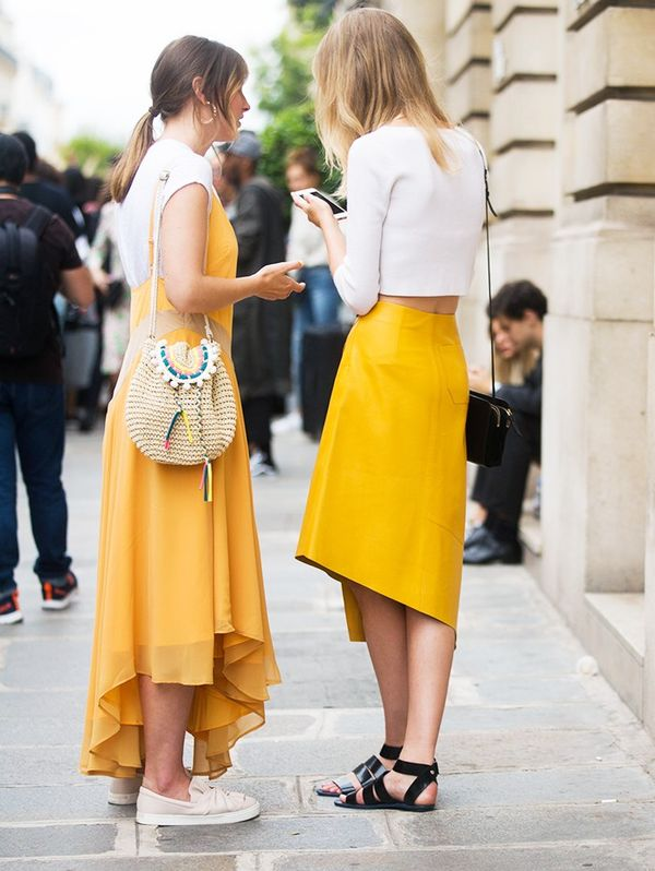 Style Notes: Have you noticed the Beyoncé Lemonade effect on the streets too? Everyone's wearing this hue.