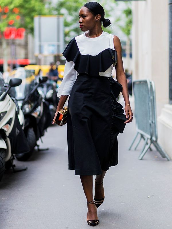 Style Notes: Who doesn't love a pre-layered dress? It does all the hard work for you.