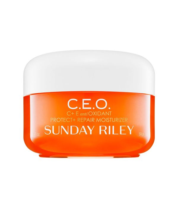 Best anti-wrinkle creams: Sunday Riley C.E.O. Protect and Repair Moisturiser
