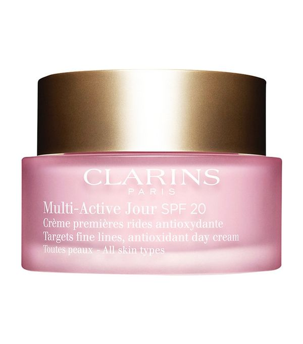 Best anti-wrinkle creams: Clarins Multi-Active Jour SPF 20