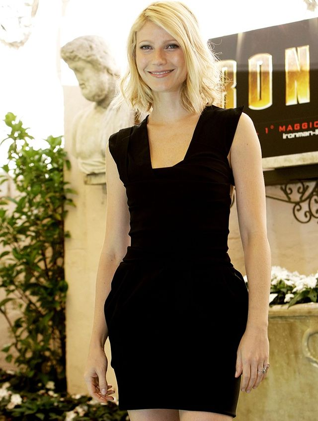 """Gwyneth Paltrow wearing Preen by Thornton BregazziPower Dress, April 2008 """"For us, they [the Power Dresses] were just what Thea and our friends wanted to wear; they captured the mood of the..."""