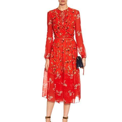Sanne Botanic-Print Dress