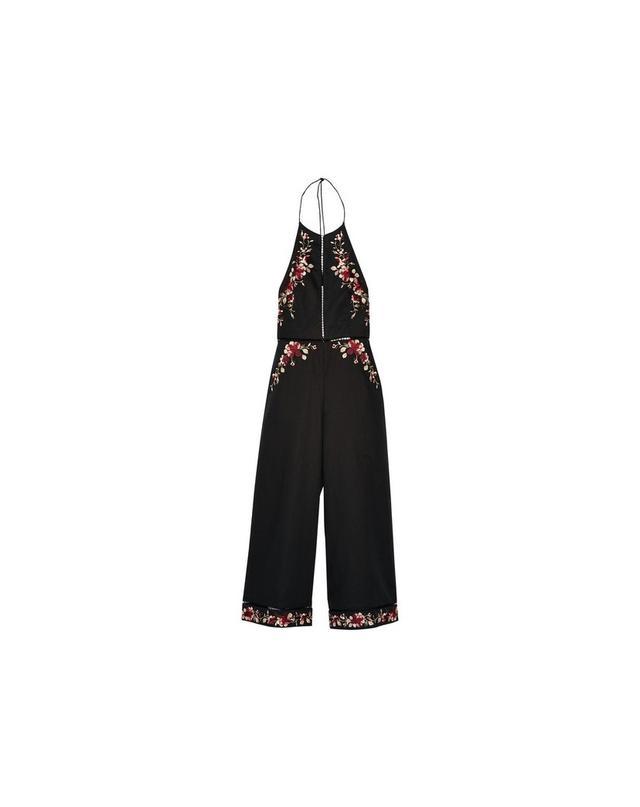 Zimmermann Sakura embroidered linen and cotton-blend jumpsuit