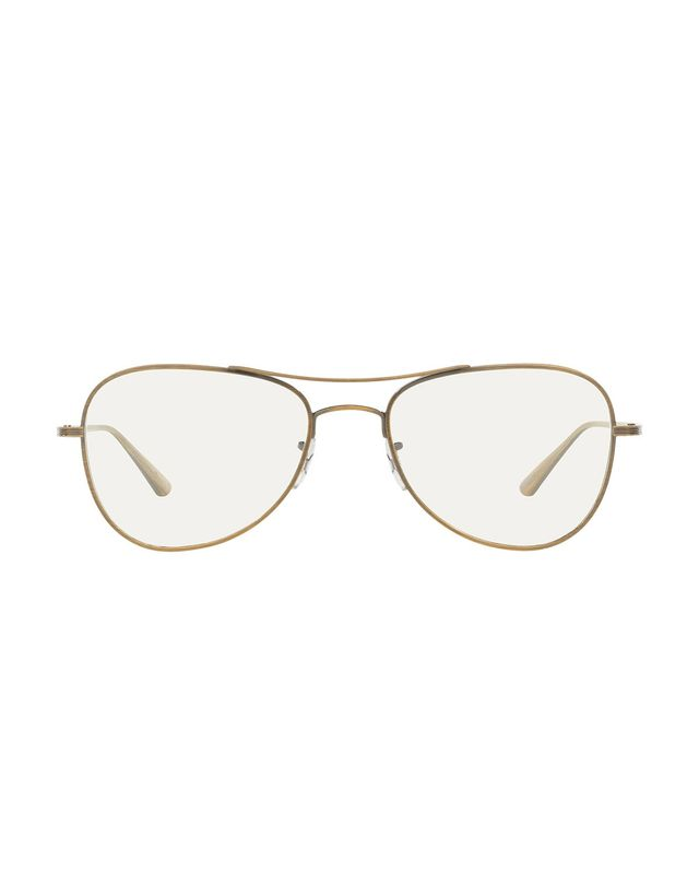 Oliver Peoples x The Row Executive Suite Photochromic Aviator Sunglasses