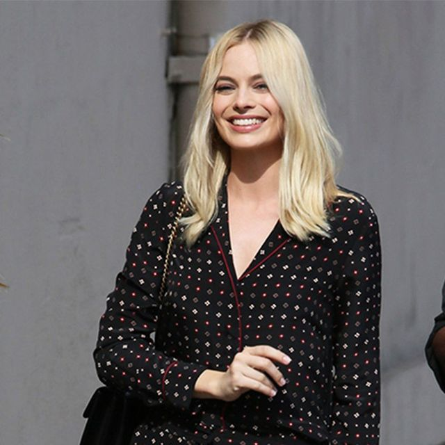 Margot Robbie Just Wore the It Shoes of the Season
