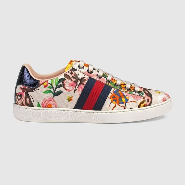 Gucci Gucci Garden Exclusive Ace Sneaker
