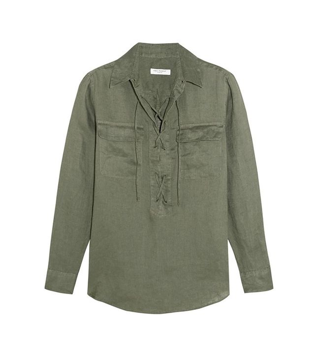 Equipment Knox Lace-Up Shirt