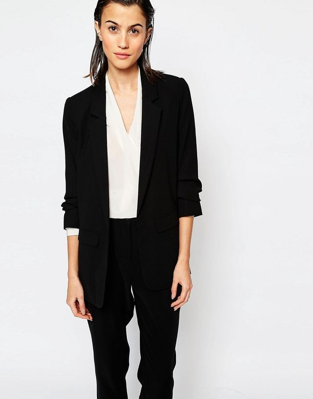 Warehouse Crepe Blazer