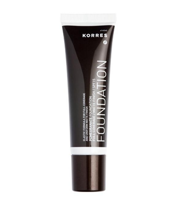 best foundation for acne: korres