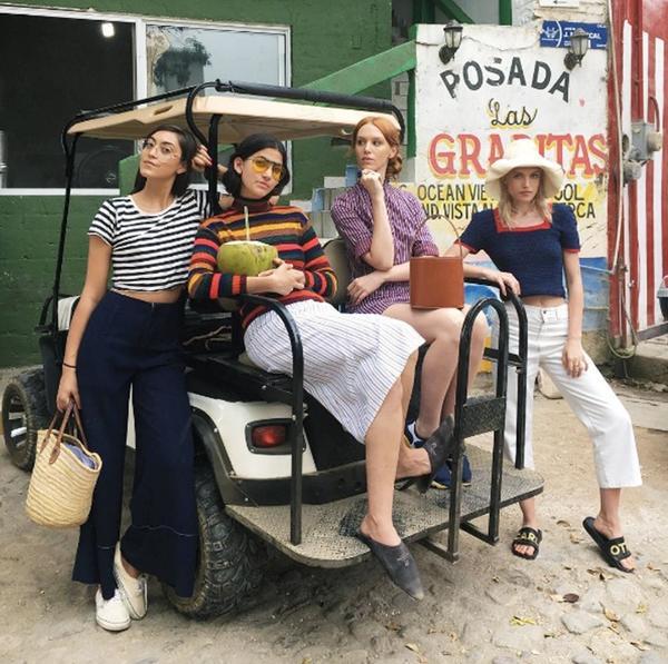 Models off-duty style: Carlotta Kohl