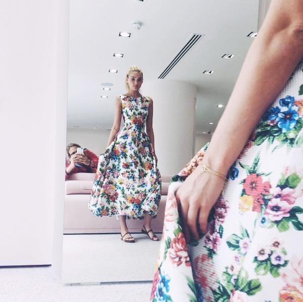 Models off-duty style: Elsa Hosk