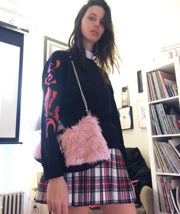Models off-duty style: Ruby Aldridge