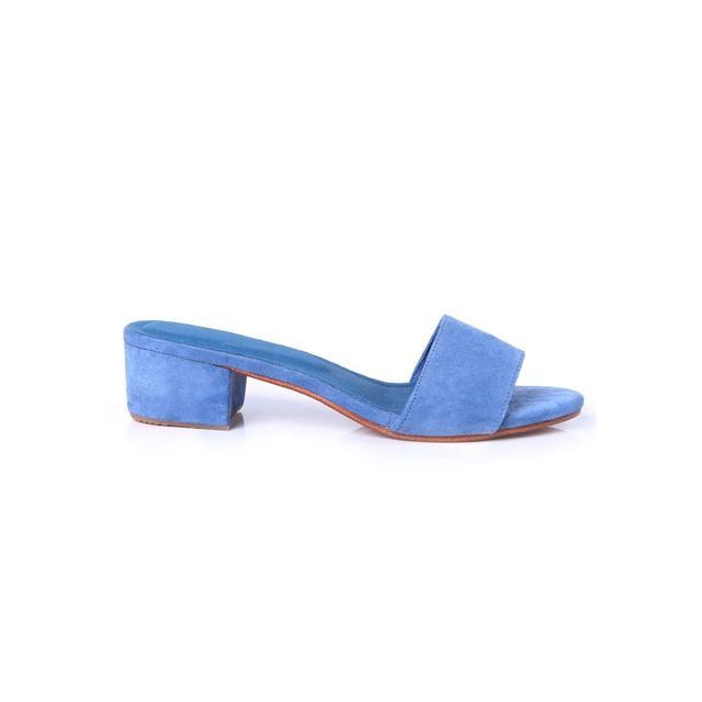 Innika Choo Blue Mules