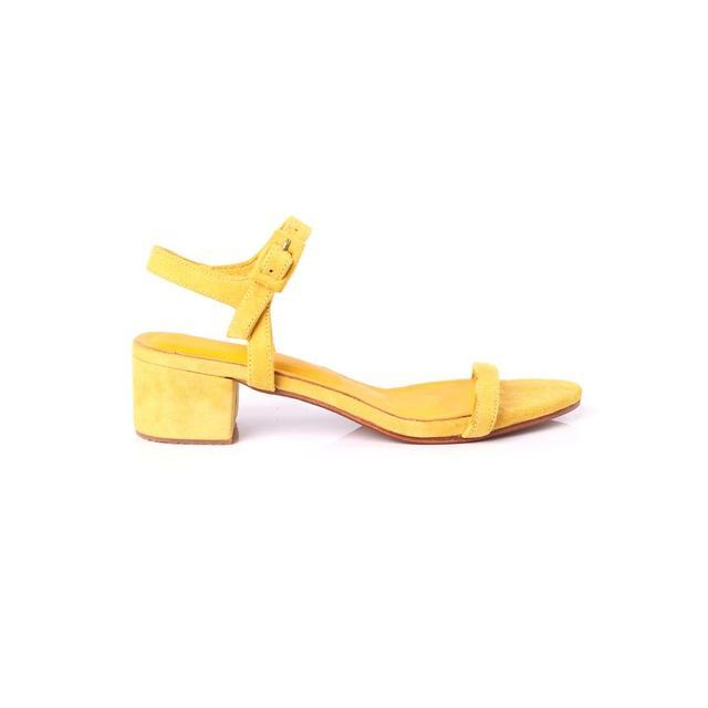 Innika Choo Mustard Strap Sandal