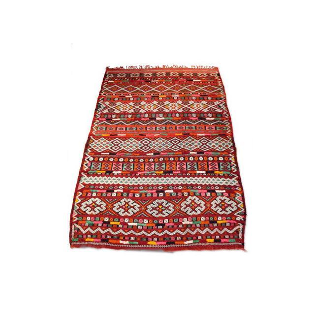 St Barts Zaiane Tribal Coloured Wool Rug